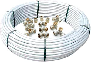 Металлопластиковые трубы и обжимные фитинги в Казани