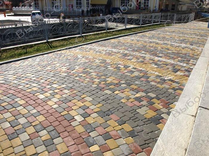 Брусчатка и тротуарная плитка - незаменимые составляющие ландшафтного дизайна