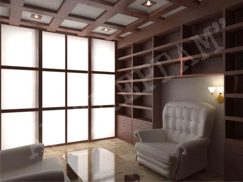 Дизайн интерьера кабинетов и