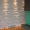 Стеновые 3Д панели из гипса Казань