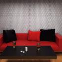 Декоративные стеновые 3D панели из гипса