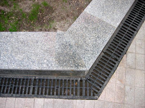 Дренажные системы поверхностный