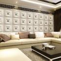 Декоративные кожаные 3д панели